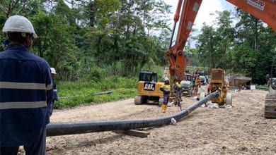 Photo of Nacap on track in PNG